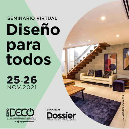Seminario Virtual Diseño para todos