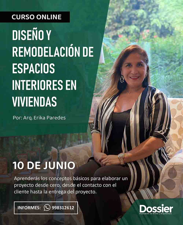 Diseño y remodelación de espacios interiores en viviendas