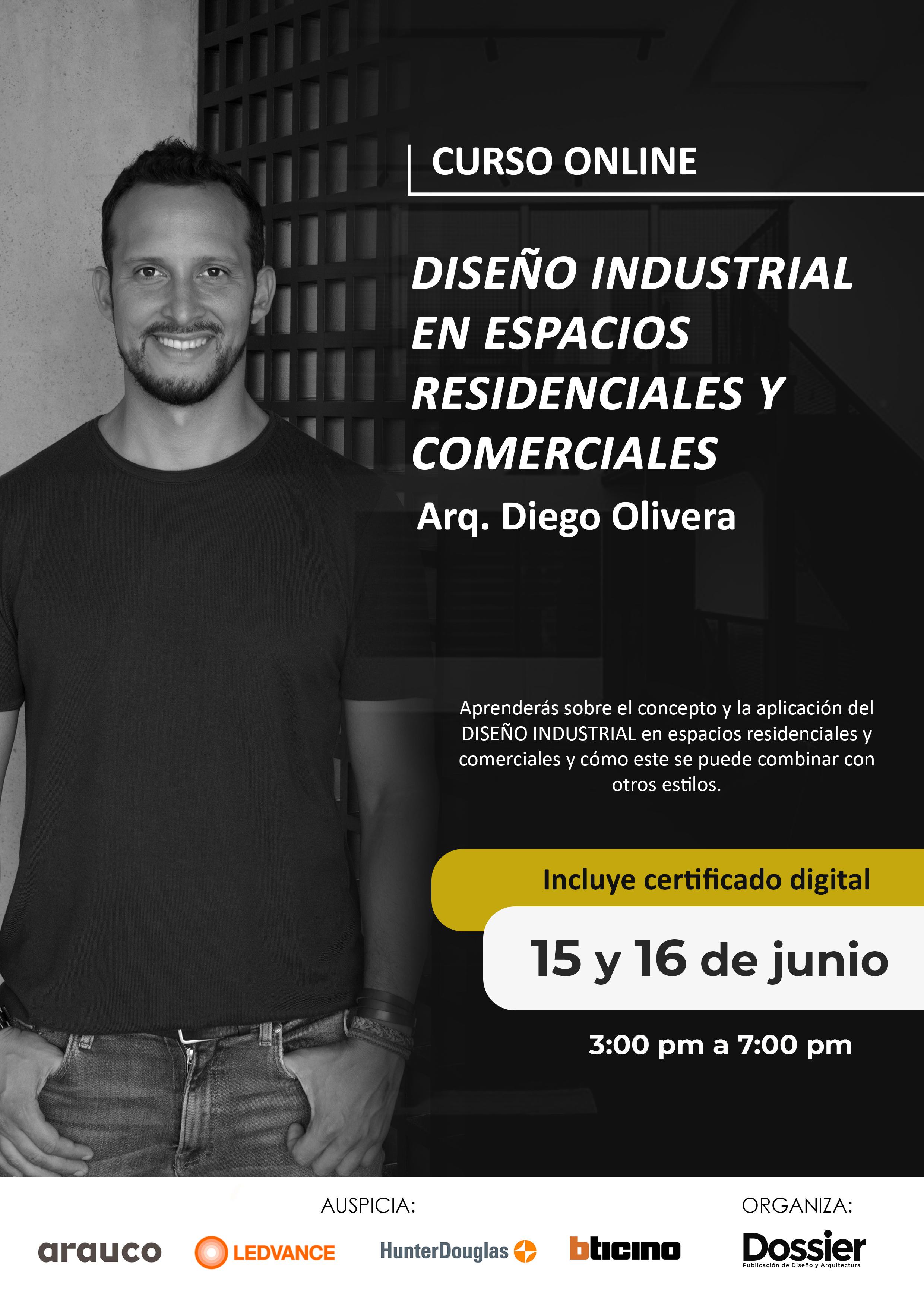 Diseño industrial en espacios residenciales y comerciales
