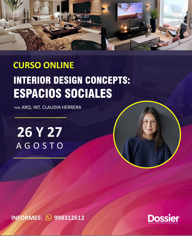 INTERIOR DESIGN CONCEPTS: Espacios Sociales