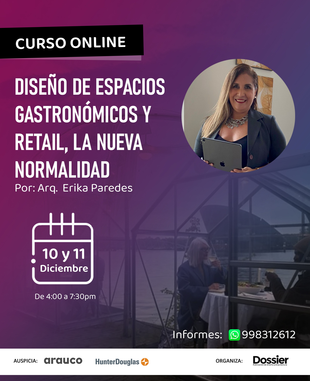 Diseño de espacios gastronómicos y retail, la nueva normalidad