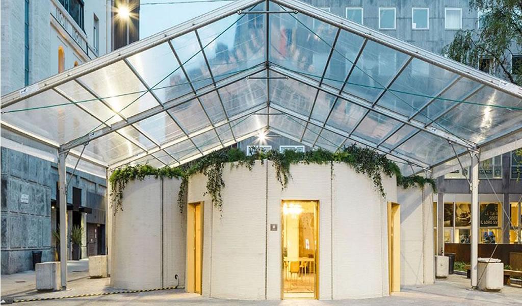 Massimiliano Locatelli ha diseñado una casa impresa en 3D para la semana de diseño de Milán