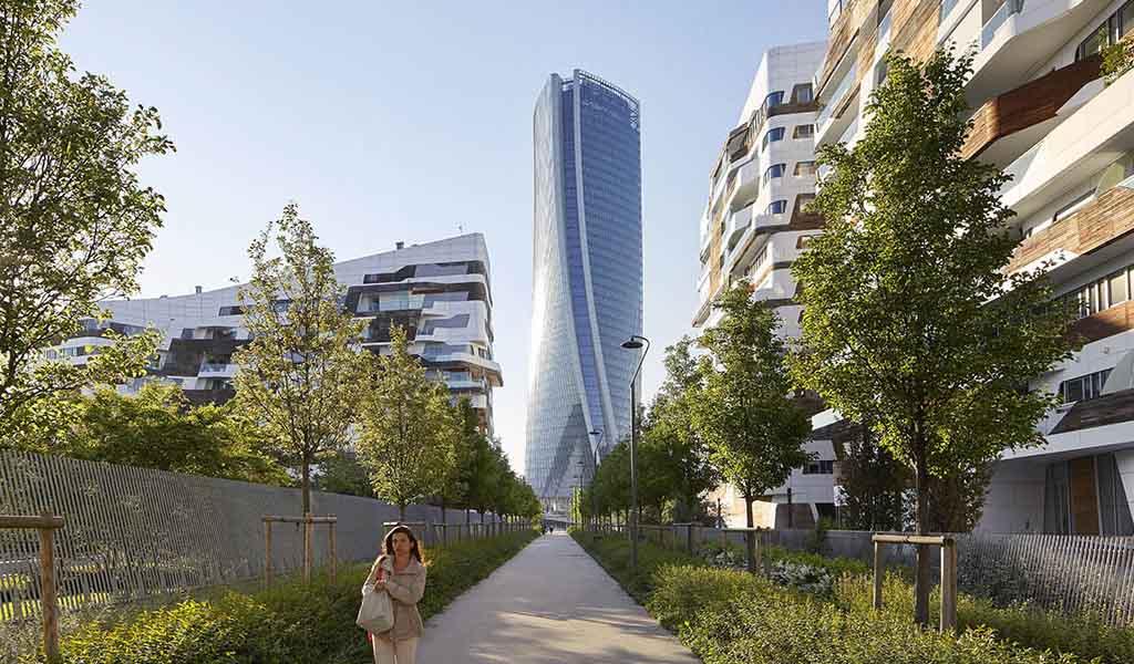 Torre Generali de Zaha Hadid en Milán