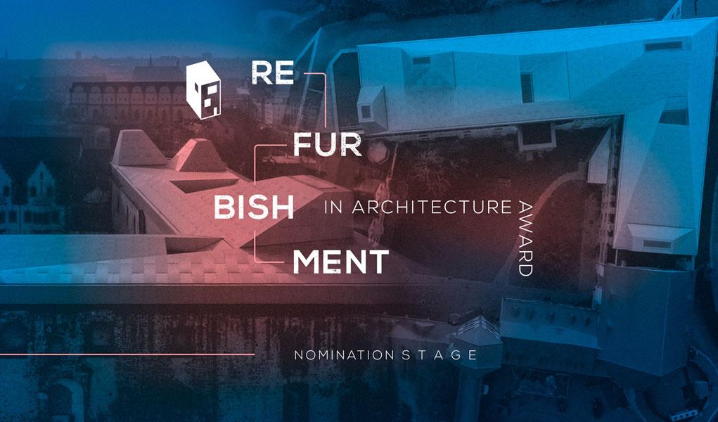 Ya están abiertas las nominaciones para los premios Refurbishment in Architecture 2018 de ArchDaily