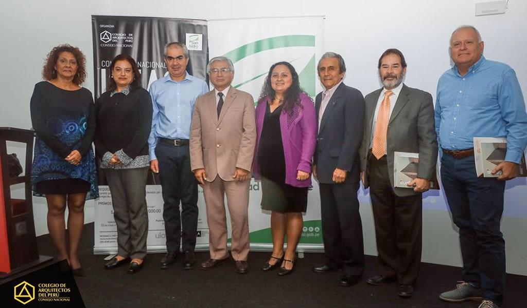 Colegio de arquitectos del Perú y Municipalidad de San Isidro organizan concurso de ideas para recuperar espacio público