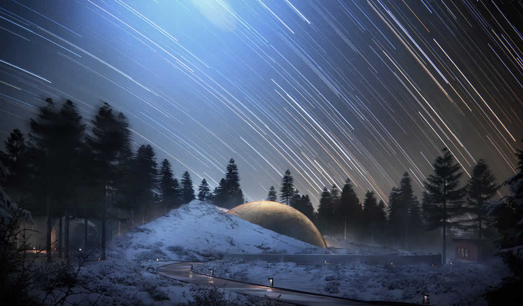 Snøhetta diseñará planetario y centro de visitas en pleno bosque noruego