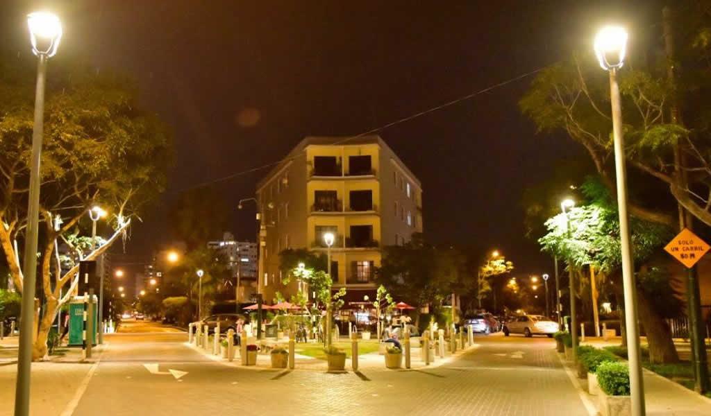 San Isidro instala iluminación LED  europea en diversos puntos