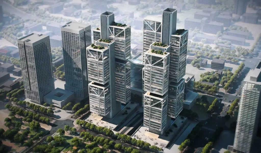 Foster + Partners diseña sede del gigante informático DJI Robotics en China