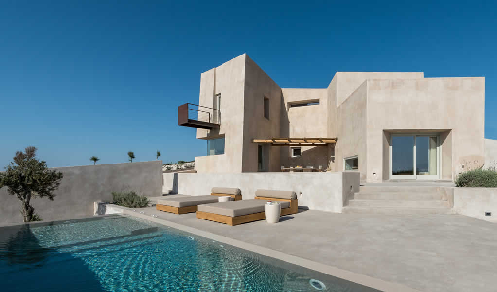 Residencia de verano en Pyrgos / Kapsimalis Architects