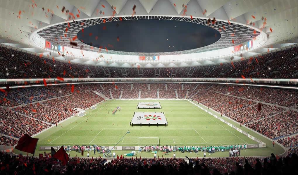 Cruz y Ortiz Arquitectos diseña el estadio de la final mundialista de la candidatura Marruecos 2026