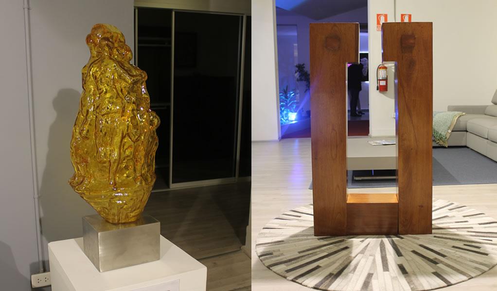 SPAZIO E STILE presentó exposición de arte contemporáneo