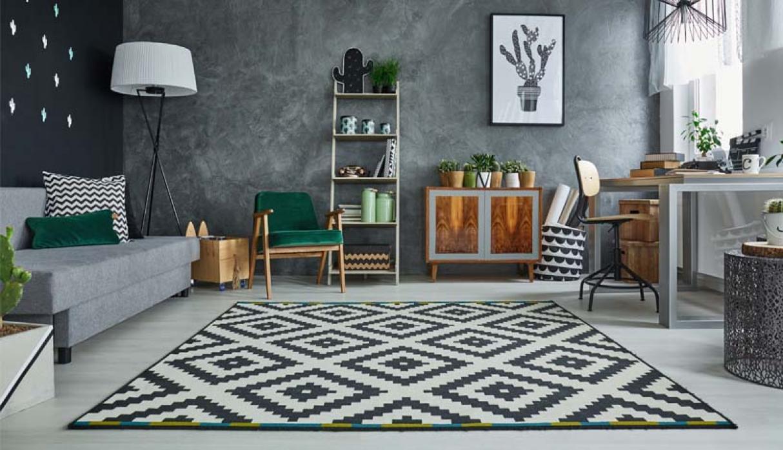 Cuatro estilos de alfombras para decorar la sala y el comedor
