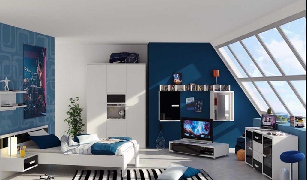 Cómo decorar espacios interiores con azul