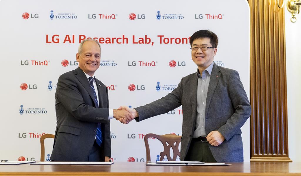 LG anuncia nuevo laboratorio de inteligencia artificial en américa del norte
