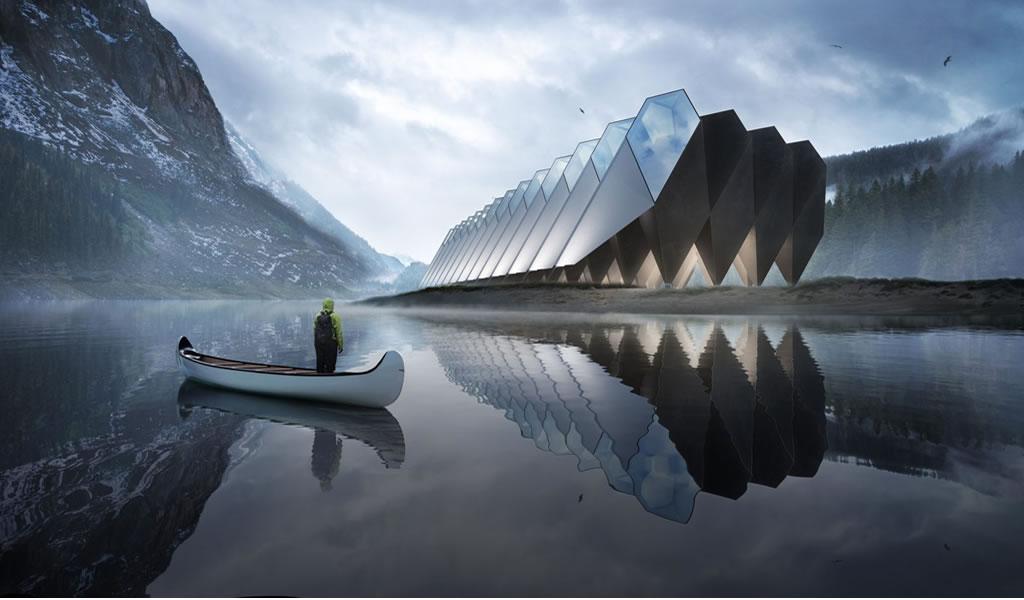Terra: Un hotel de ciencia ficción en plena naturaleza