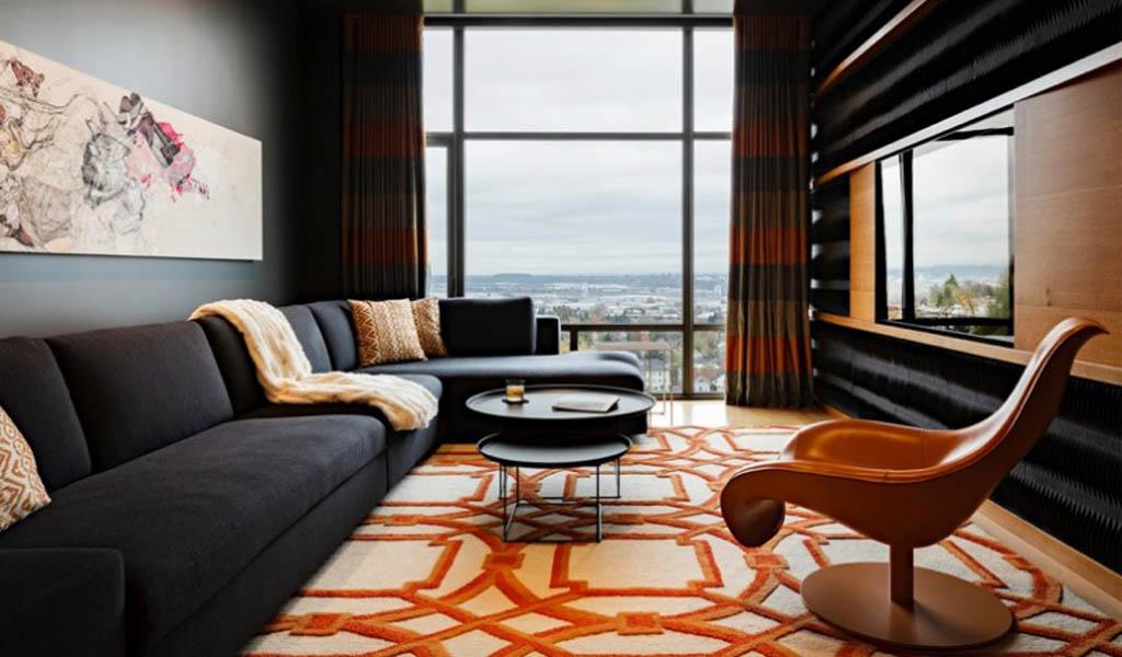 Cómo decorar con naranja para calentar con estilo cualquier habitación