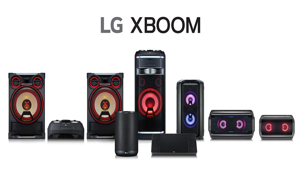 IFA: LG presenta ampliación de su línea de audio x boom