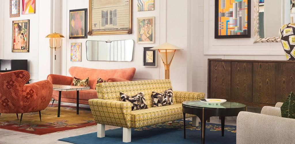 Kelly Wearstler amuebla el hotel San Francisco Proper con diseño europeo vintage