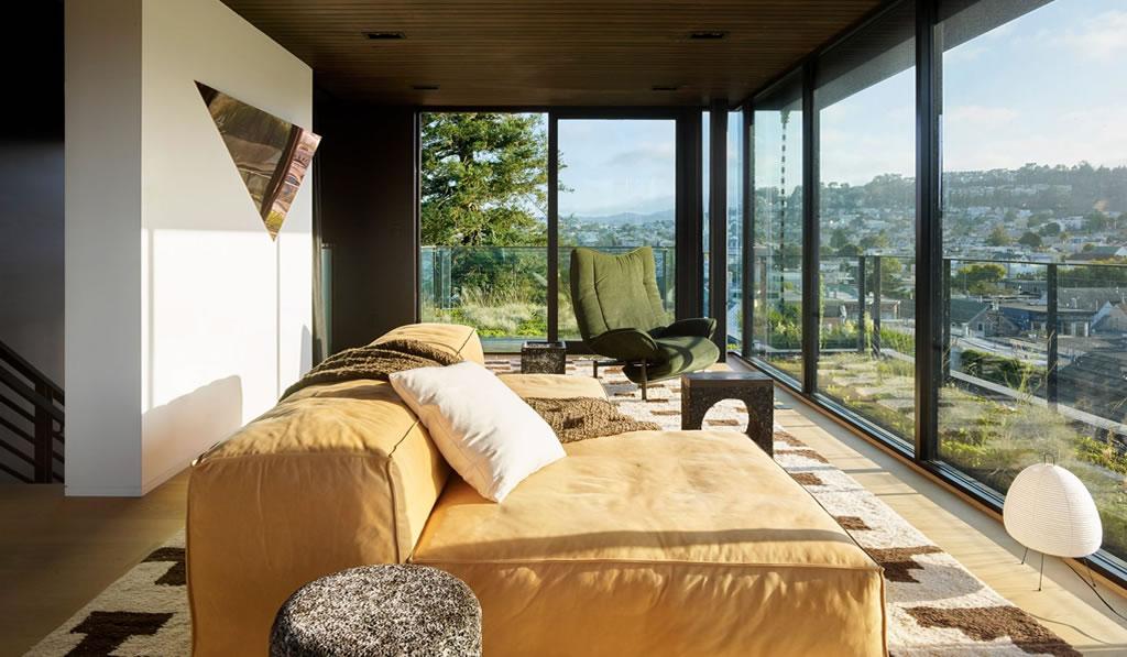 """Jamie Bush mezcla diseños personalizados y """"hallazgos vintage"""" en San Francisco Residence"""