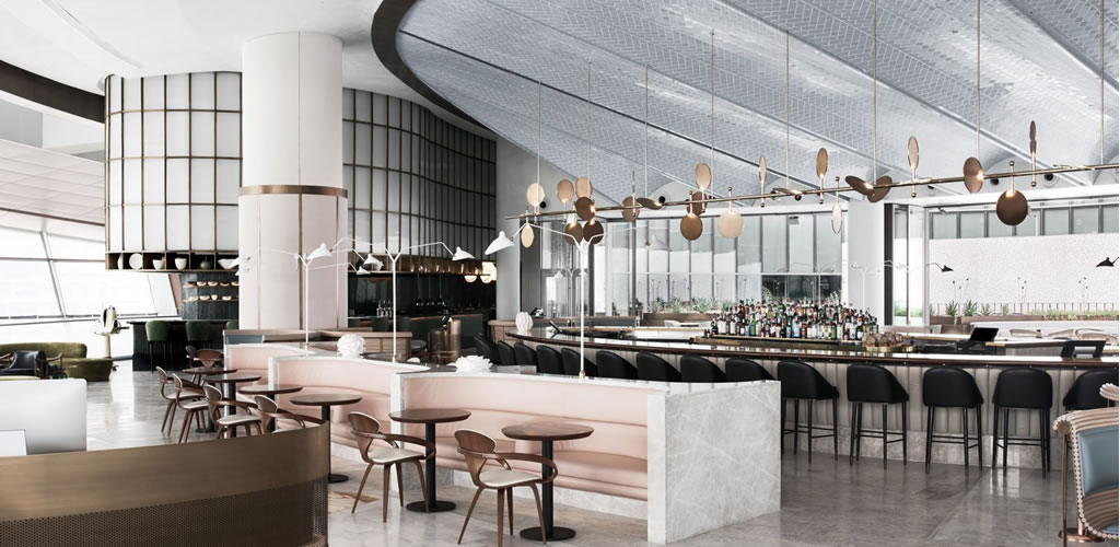 El restaurante temático Ocean by Alexander & Co and Tribe Studio se abre en la azotea de la Ópera de Dubai