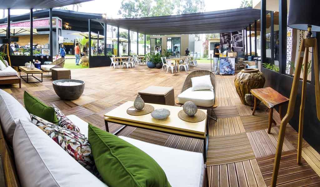 Terraza Café diseñado por Claudia Herrera y Maria Jose Lavado
