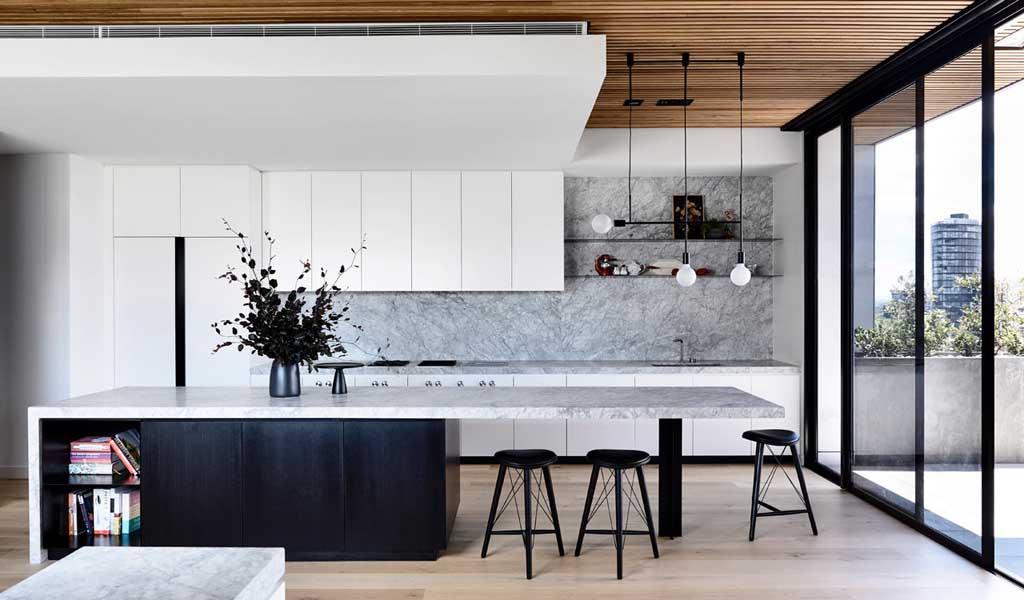 Holly Penthouse en Melbourne combina lujo y comodidad