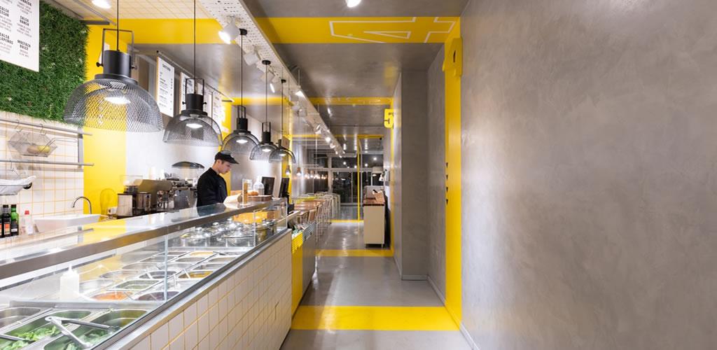 Restaurant Oh MyBowl / Estudio Montevideo + Pablo Dellatorre