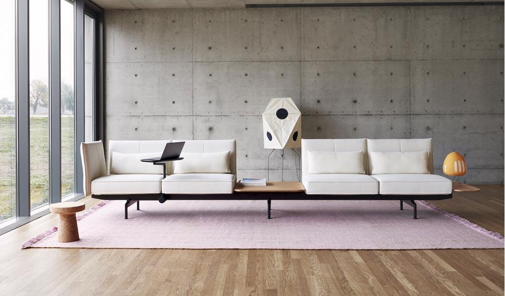 Sistema de asientos Soft Work de Barber & Osgerby para Vitra