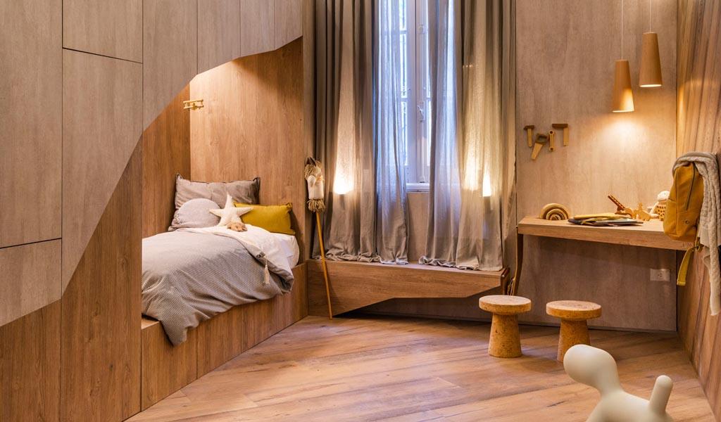 #thebearscave es un dormitorio divertido e imaginativo para niños