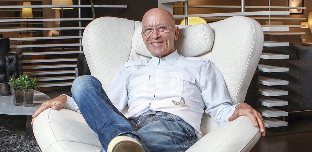 Pascuale Natuzzi, diseñador supremo de Natuzzi Editions