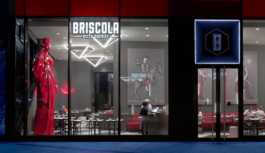 El Concepto Interior Distintivo de Fabio Novembre para la Sociedad de Briscola-Pizza