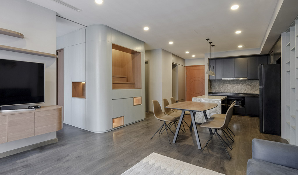 P02 Apartment por  Comma Studio