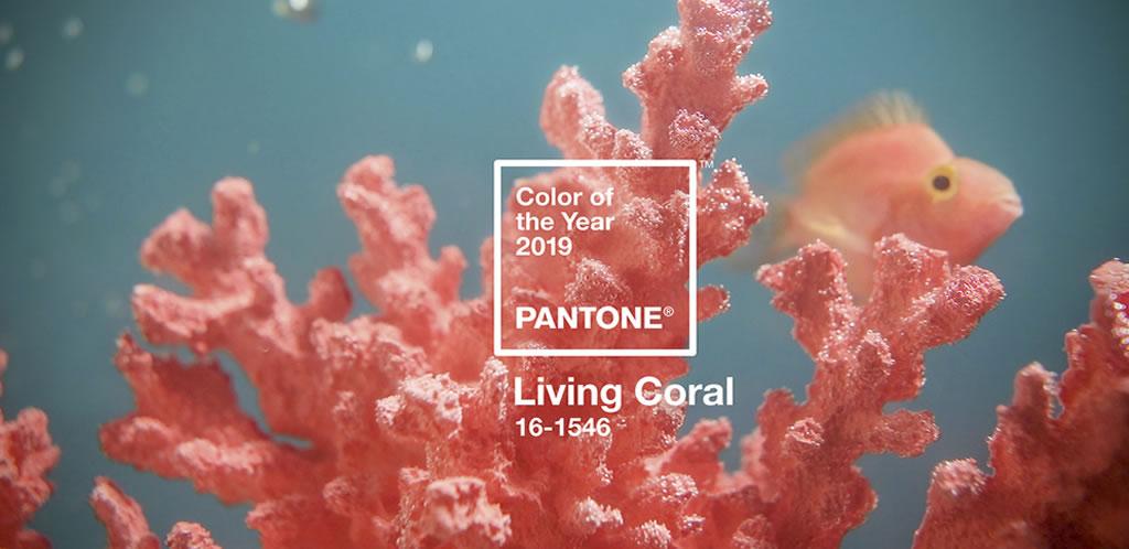 Living Coral es el color del año de Pantone para 2019