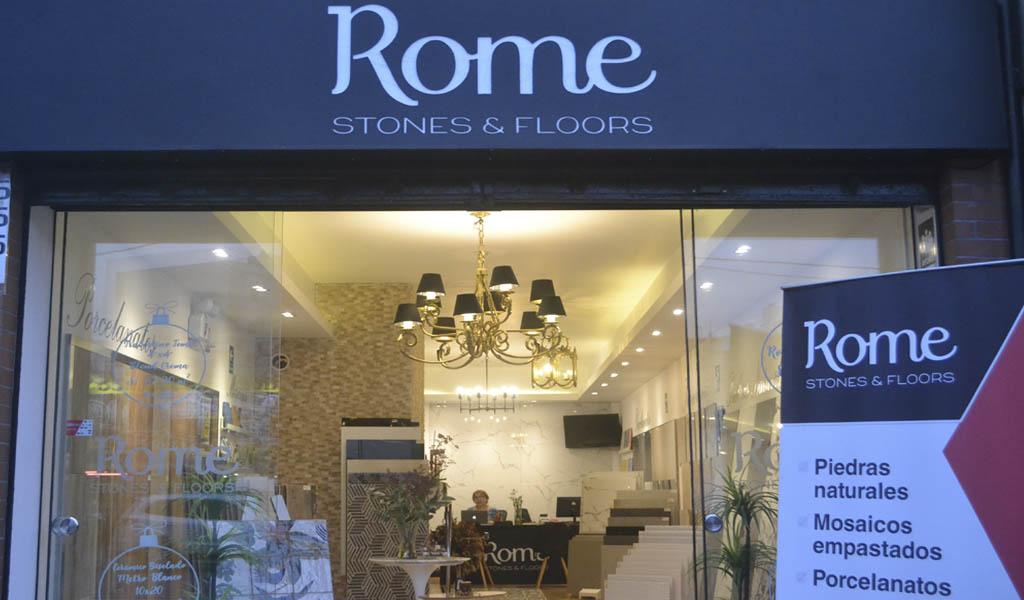 Rome Stones & Floors inaugura show room de acabados para la construcción en Surco