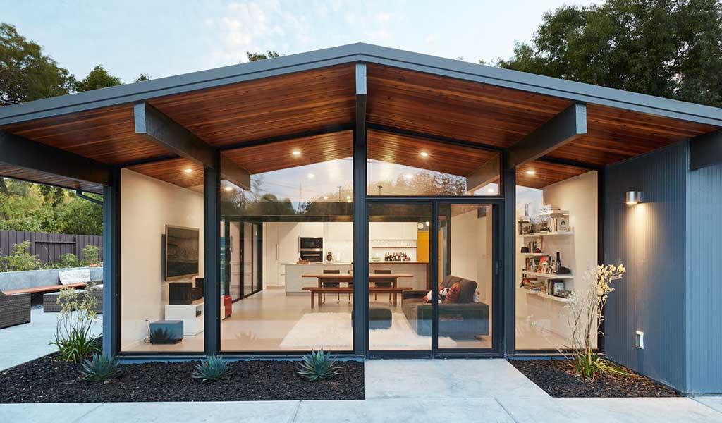 Klopf Architecture remodela una Casa de Eichler en Palo Alto
