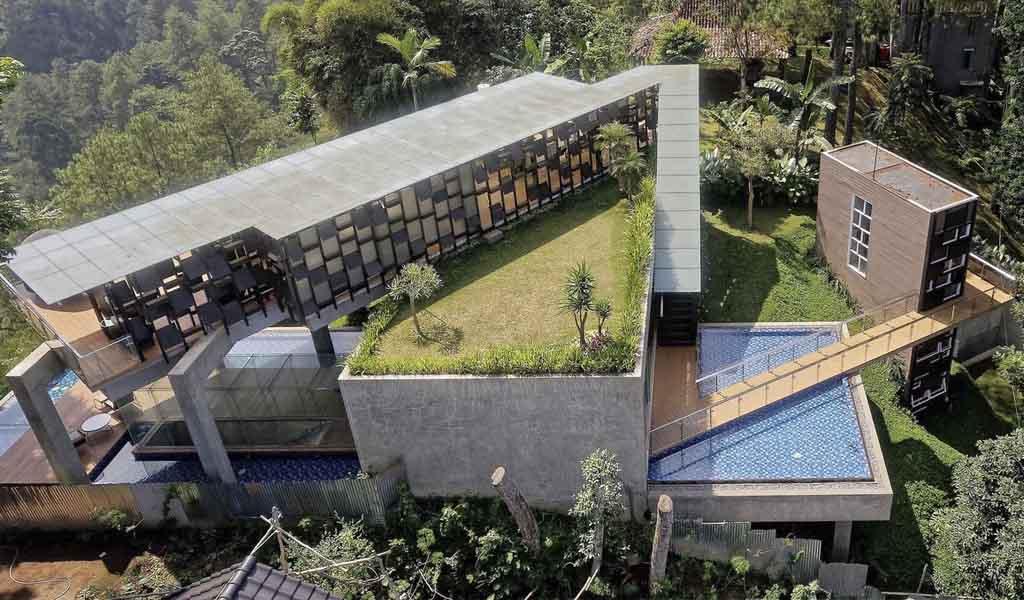 Casa Colgante por TWS & Partners