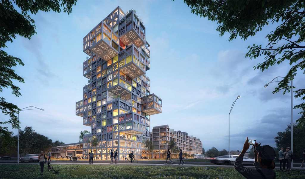 El diseño final del complejo KoolKiel de MVRDV será determinado por la comunidad.