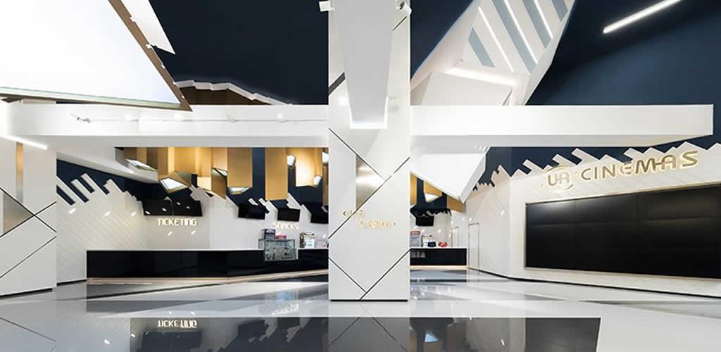 El estudio oft interiors diseña los cines UA en Shangai