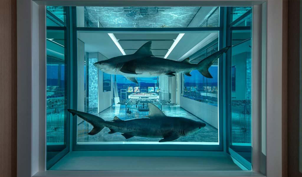 Damien Hirst crea una suite de hotel de $100,000 por noche en Las Vegas