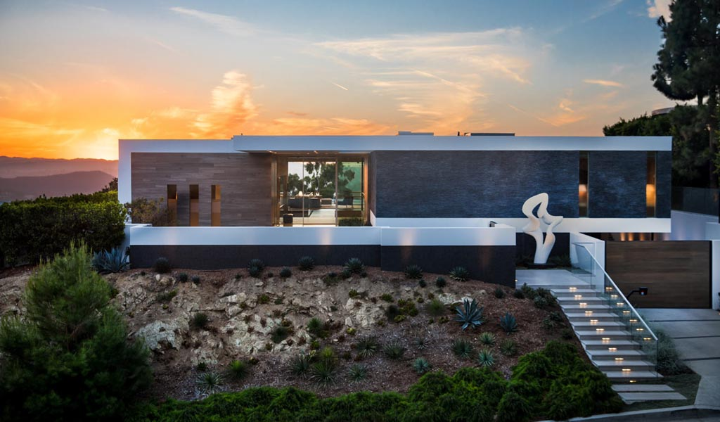 La Residencia Ultra-Custom, Hilltop Carla Ridge en Beverly Hills