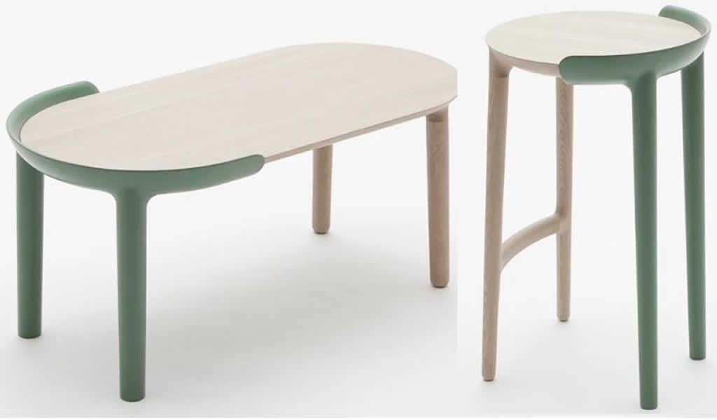 Dos muebles distintos para una colección de Japan Creative