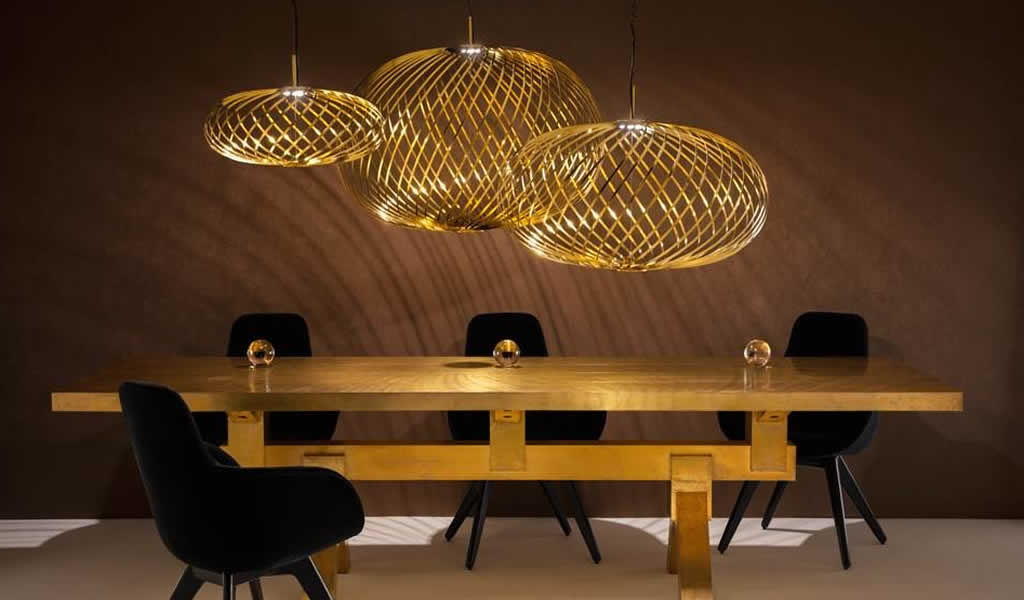 Tom Dixon presentó piezas exclusivas para el Lima Design District 2019