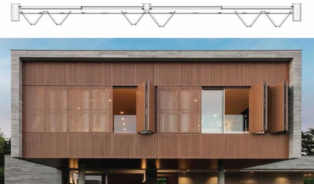 Puertas y ventanas de acordeón: abriendo fachadas al exterior