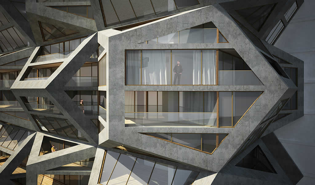 "Tammo Prinz Architects propone una torre ""platoniana"" en Lima, Perú"