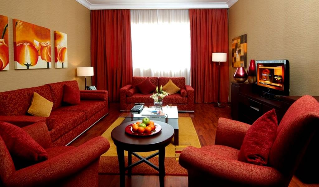 Tips para transformar nuestros espacios con color rojo