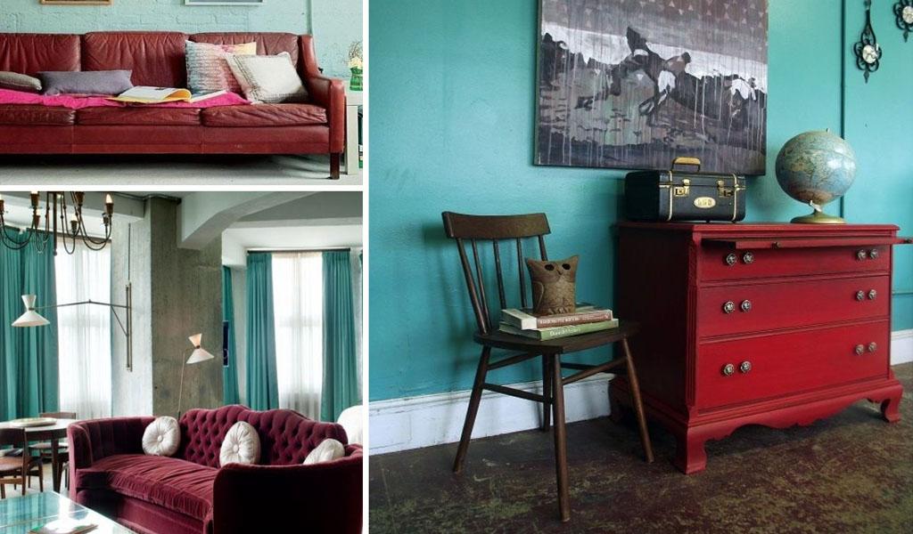 ¿Cómo decorar un cuarto con rojo?