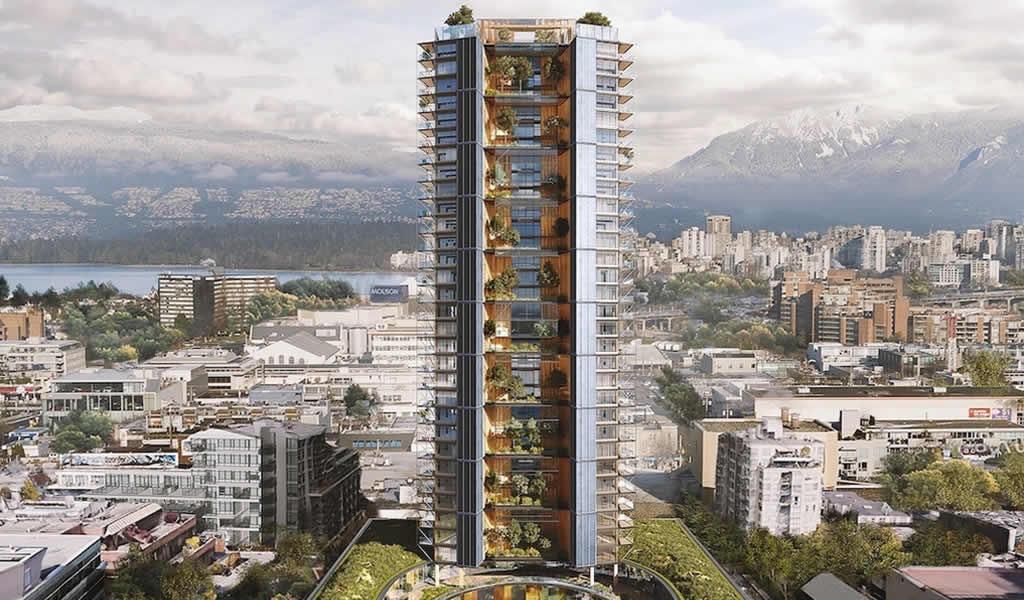Perkins + Will diseña el rascacielos de madera más alto del mundo en Vancouver