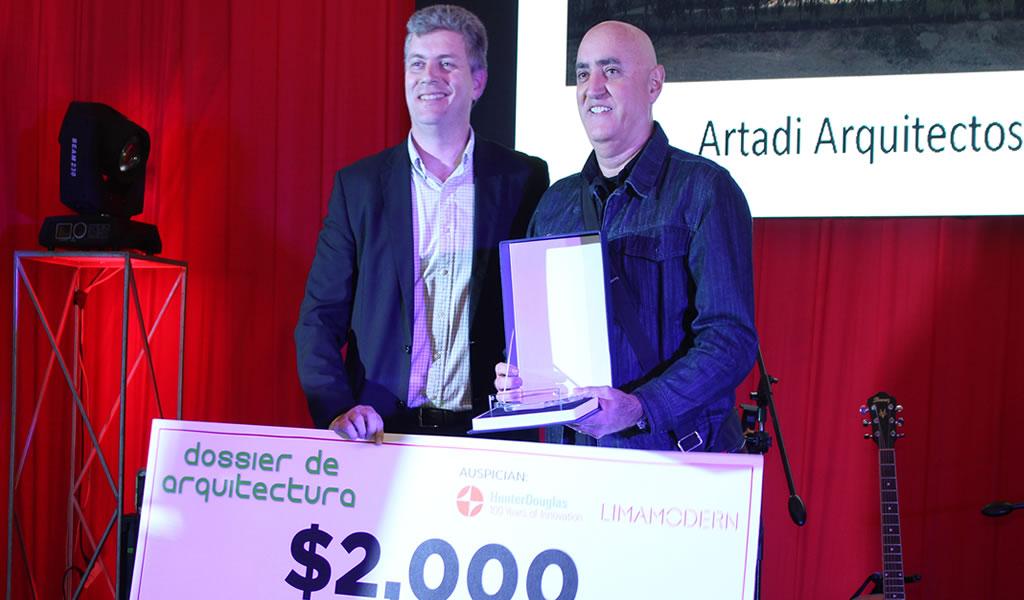 ARTADI: Ganador del Premio Dossier de Arquitectura