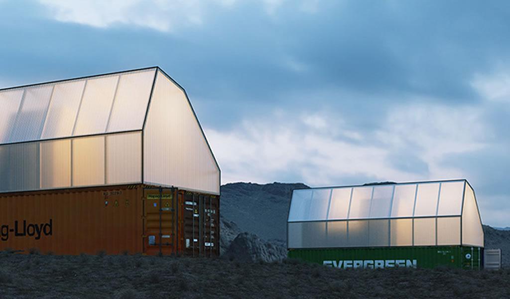 TRS Studio convierte un contenedor de carga en una vivienda social