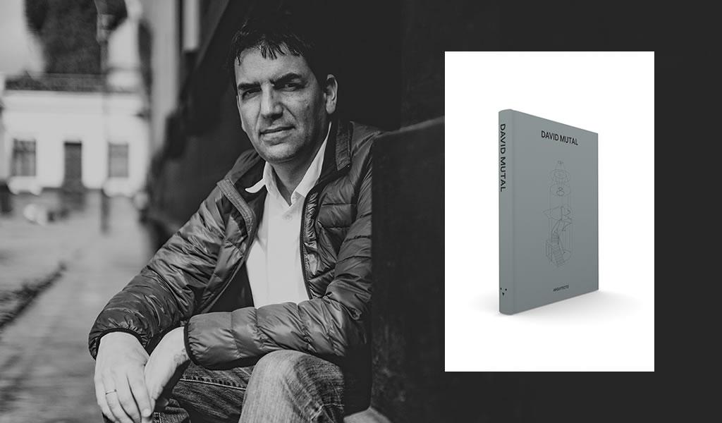 David Mutal, arquitecto peruano, presenta libro en una edición de lujo y tiraje limitado.
